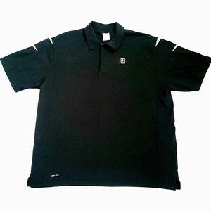 Nike Dri Fit Quarter Zip Polo Shirt